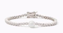 Kate Spade New York-Metallic Precious Pearls Bracelet