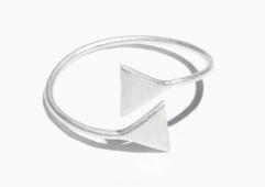 & Other Stories-Metallic Signet Ring