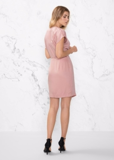 & Other Stories Women's Pink Wrap Dress2